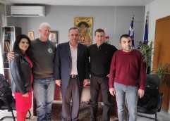 Συνάντηση του Δημάρχου Θάσου με την Διοίκηση του Νομαρχιακού Συλλόγου ΑΜΕΑ Ν. Καβάλας και του Περιφερειακού Συλλόγου Τυφλών Α.Μ.