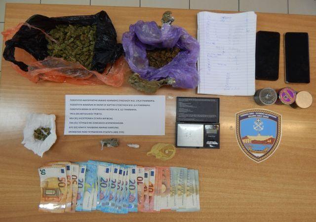 ΚΑΒΑΛΑ: Σύλληψη τριών ατόμων για ναρκωτικά στην Καλαμίτσα με τη βοήθεια σκύλου