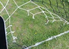 Ζημιές στο γήπεδο του Αμυγδαλεώνα!!!