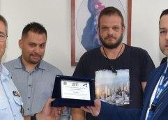 Δωρεά υλικοτεχνικού εξοπλισμού για τις ανάγκες του Τμήματος Ασφάλειας Καβάλας από την εταιρεία BRINK'S HELLAS