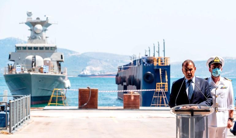 Ν. Παναγιωτόπουλος: Οι Ένοπλες Δυνάμεις εξασφαλίζουν ότι αυτή η χώρα δεν απειλείται από πουθενά – Τελετή καθέλκυσης ΤΠΚ 7