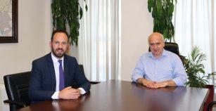 Συνάντηση Χρ. Μέτιου με Τζιχάν Ιμάμογλου και ορισμός του ως θεματικού Αντιπεριφερειάρχη Κοινωνικών Πολιτικών της Περιφέρειας ΑΜΘ