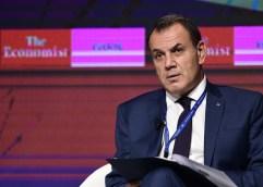 """Ο ΥΕΘΑ Νίκος Παναγιωτόπουλος στη συζήτηση Στρογγυλής Τραπέζης που διοργάνωσε ο """"Economist"""""""