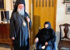 """"""" Εκοιμήθη"""" η ηγουμένη της Ιεράς Μονής Αγιου Παντελεήμονος Χρυσοκάστρου Λυδία Μοναχή"""