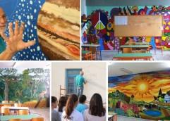 Καβάλα: Με πινέλα και χρώματα μεταμορφώνει ζωγραφικά κάθε επιφάνεια μεταφέροντας μηνύματα και συναισθήματα