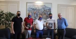 Συνάντηση του Δημάρχου Καβάλας, Θόδωρου Μουριάδη, με τη διοίκηση του ΑΟΚ