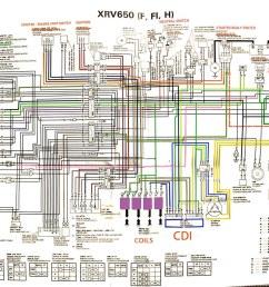 honda africa twin wiring diagram [ 1374 x 927 Pixel ]