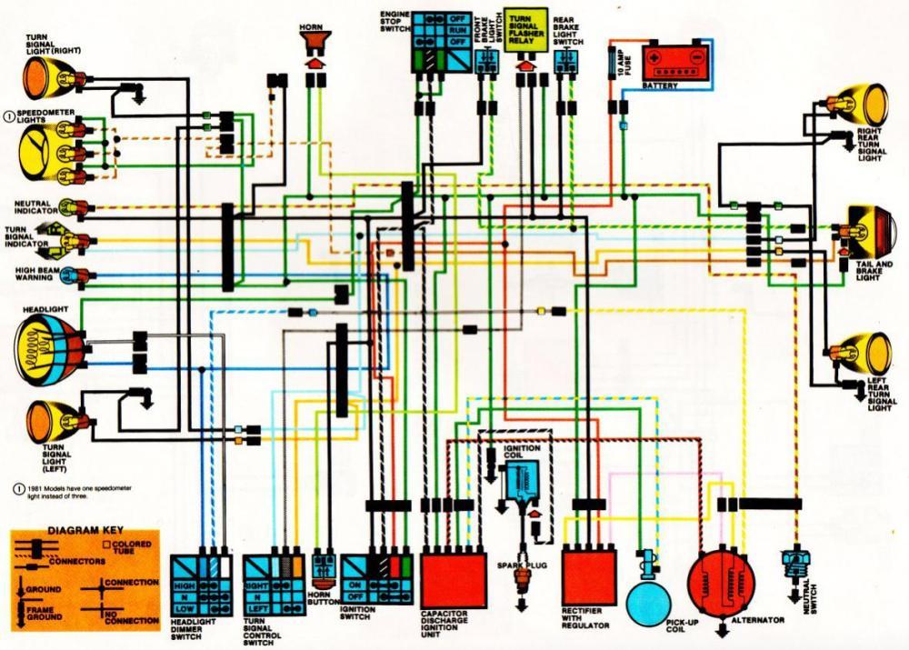 medium resolution of marvelous 1981 honda xl500s wiring diagram images best 83 honda goldwing interstate 1982 honda goldwing radio