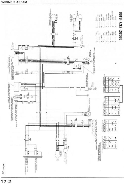 small resolution of xr400 wiring diagram