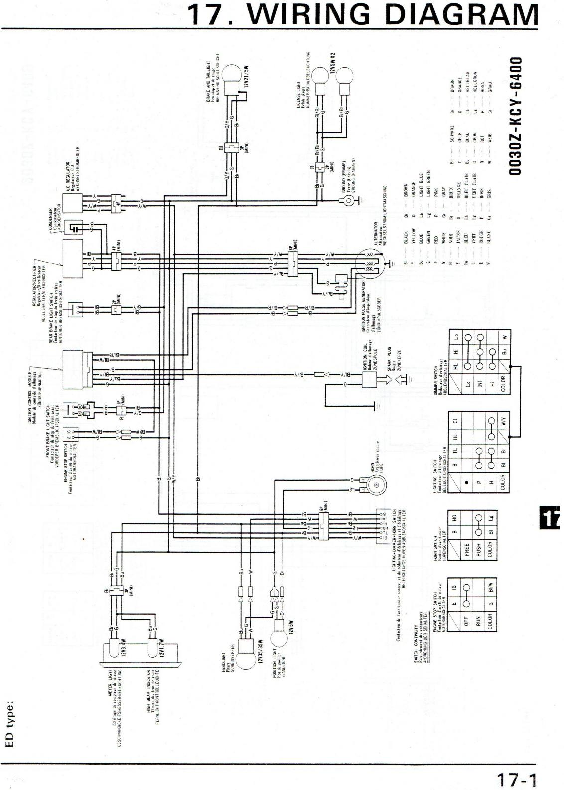 Xr 400 Wiring Diagram