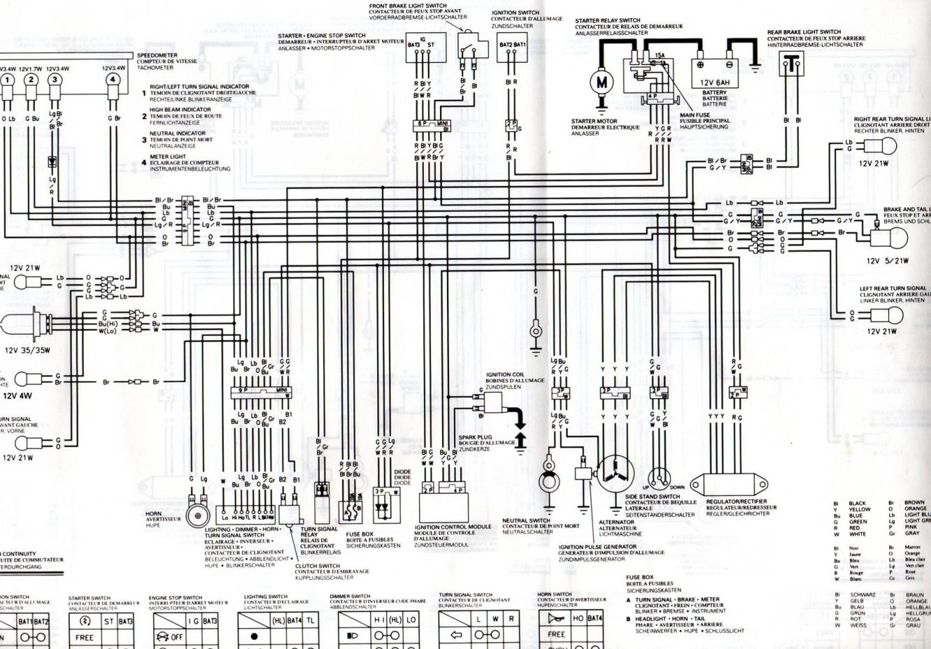 Photo 1 Of 1 From Honda Xlr 125 Wiring Diagram