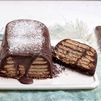 Ένα καταπληκτικό γλυκό ψυγείου με μπισκότο έτοιμο σε 3 λεπτά!