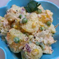 Η πιο εύκολη και νόστιμη συνταγή που έχετε δοκιμάσει για πατατοσαλάτα