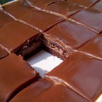 Το πιο σοκολατένιο και εύκολο γλυκό ταψιού είναι αυτό..