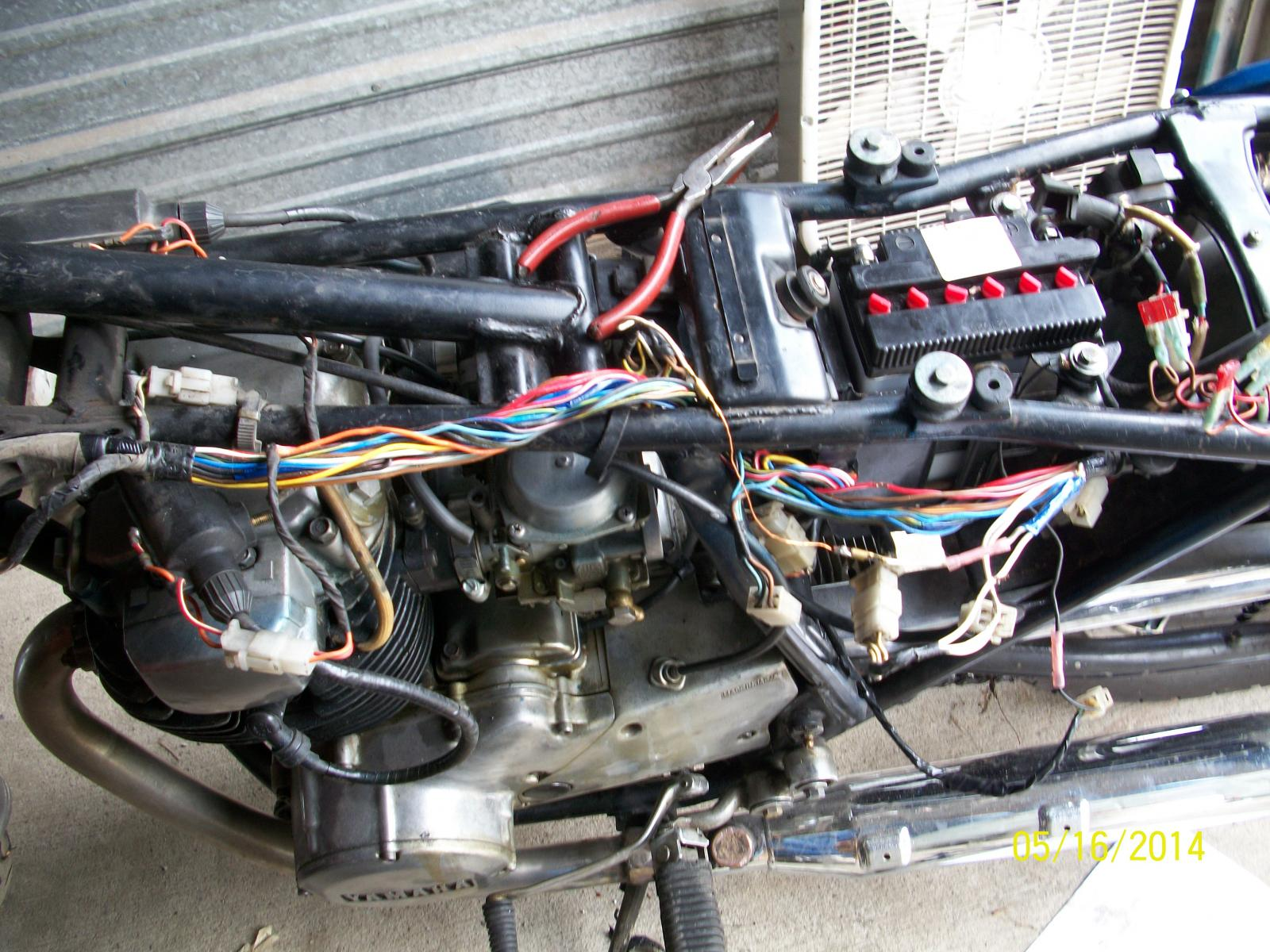 hight resolution of 1980 wiring harness on yamaha xs400 35 wiring diagram yamaha xs 650 chopper ideas yamaha xs650