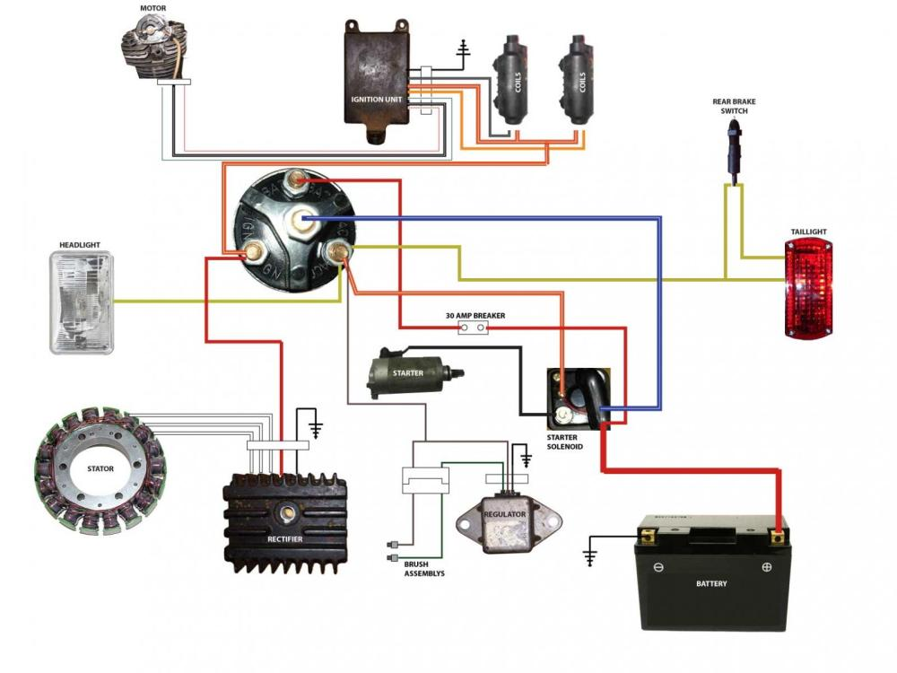 medium resolution of yamaha xs400 wiring diagrams page 8 yamaha xs400 forum at highcare asia