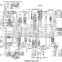 Yamaha Virago Wiring Diagram Ford Rv Plug Xs 750 Data Schema Xs400 Browse Rd 350