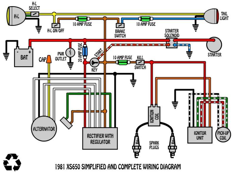 Triumph T120 Wiring Diagram Solid State Rectifier Regulator Install Yamaha Xs400 Forum