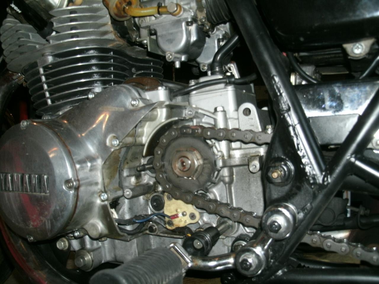 Yamaha Xs Wiring Diagram Oil Leak From Clutch Rod Seal Yamaha Xs400 Forum