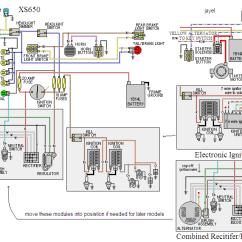 Yamaha 650 Wiring Diagram Bank Of America Stadium Some Diagrams Xs650 Forum