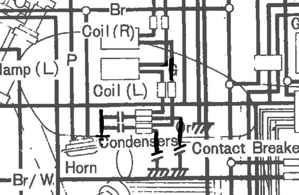 1975 Honda Cb750 Wiring Schematics. Honda. Wiring Diagram