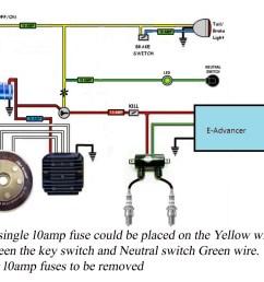 simplified wiring cap pma pamco e advance jpg [ 1024 x 782 Pixel ]