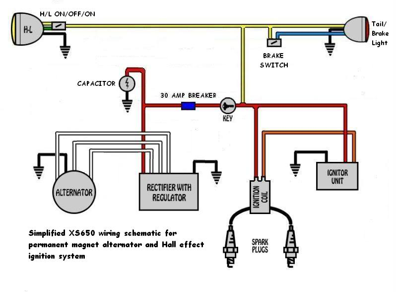 accel ignition wiring diagram square d 3 phase magnetic starter build your own m unit | page 4 yamaha xs650 forum