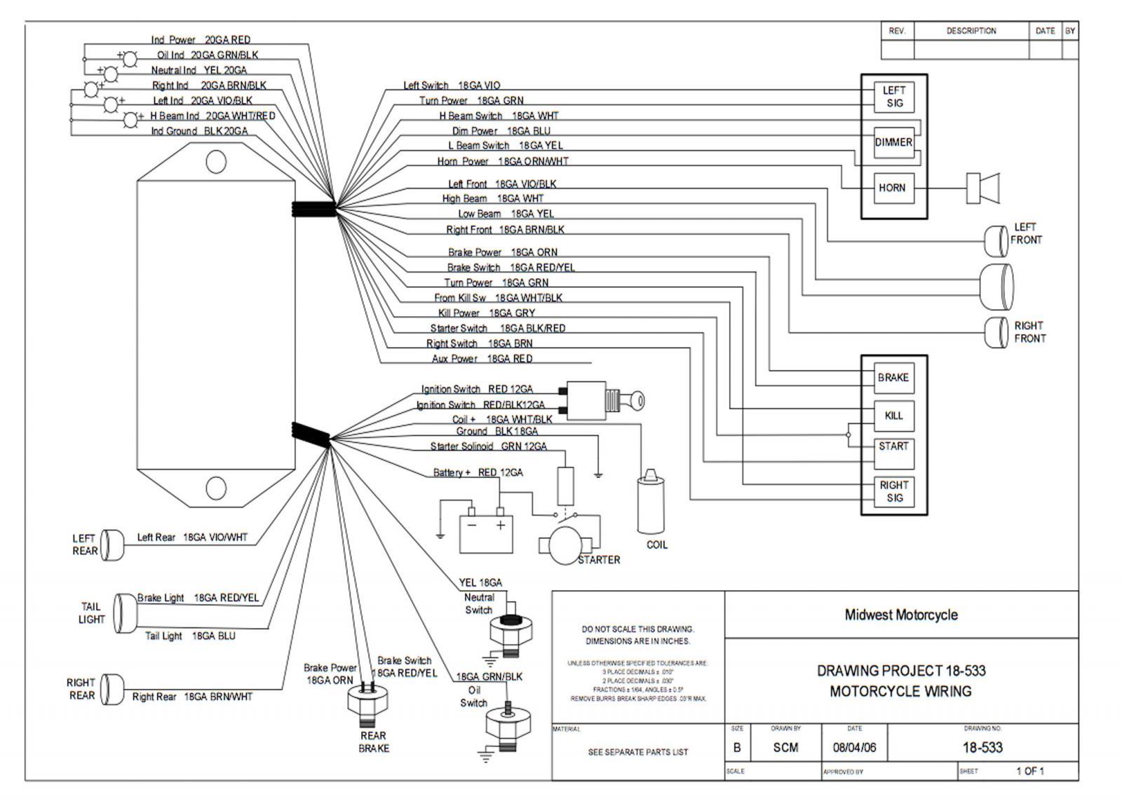 ultima wiring harness diagram