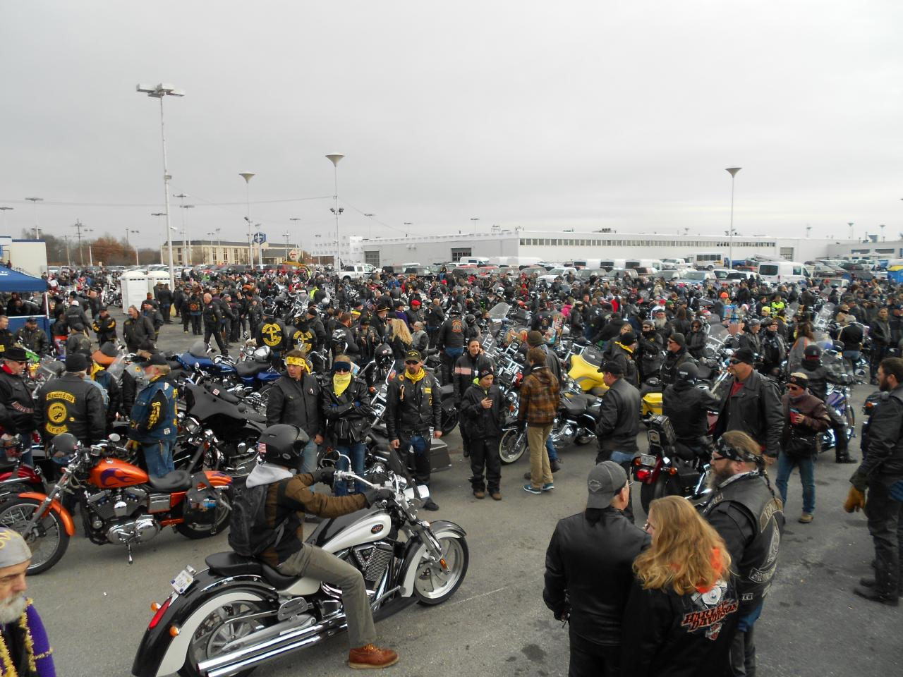 2014 Toys For Tots Springfield Mo 46 Degrees And Overcast