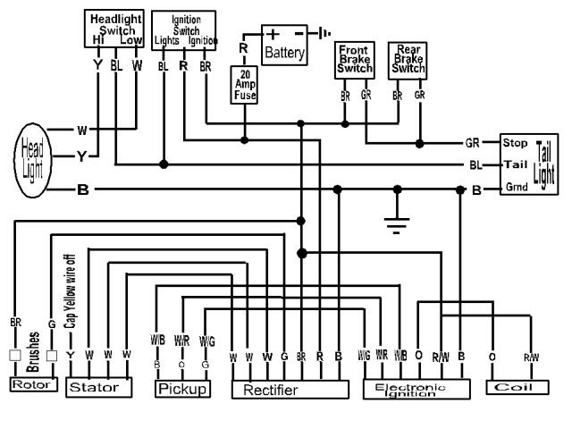 xs650 pamco wiring diagram
