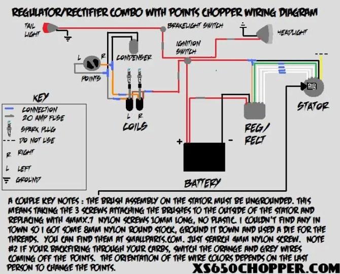 diagram xs650 chopper wiring diagram points full version hd