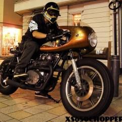 Yamaha 650 Wiring Diagram 97 S10 Headlight Xs650 Cafe Racer Half Fairing Chopper Ride