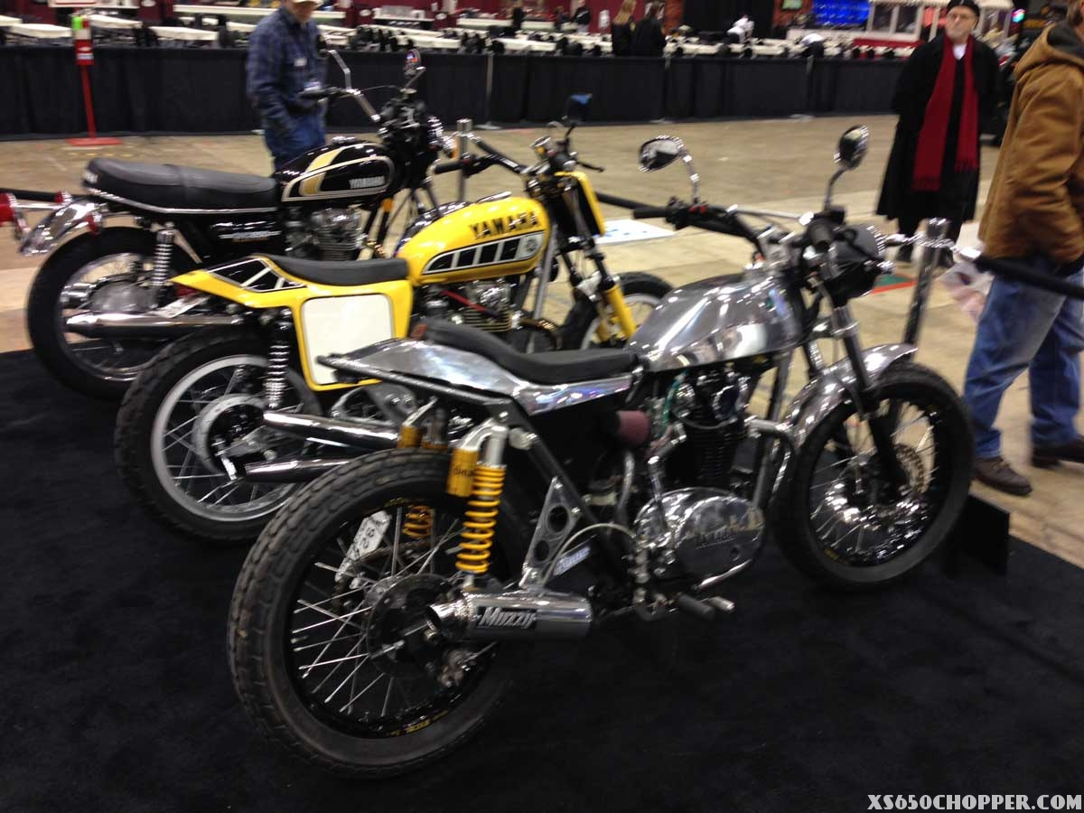Yamaha Xs650 Bobber Frame