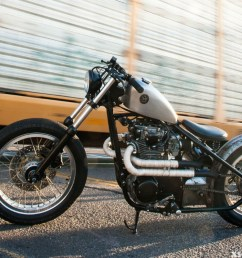 here is this month s featured bike by brogue motorcycles this build is sweet and we 1978 yamaha xs650  [ 1200 x 799 Pixel ]