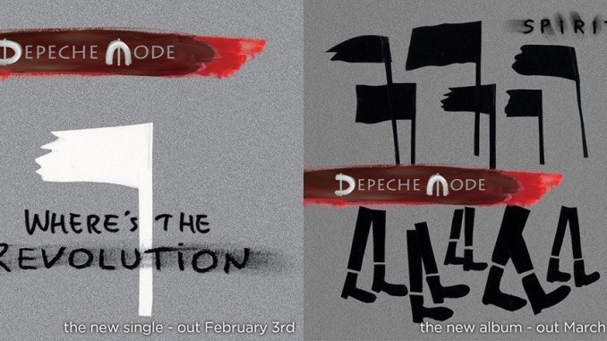 """Depeche Mode To Release New Single """"Where's The Revolution"""" on February 3rd 2"""