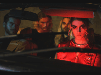 SWIMMING GIRLS share video for 'Back Of Your Car'