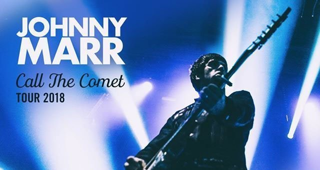 WIN: Tickets to see JOHNNY MARR @ Ulster Hall, Belfast Thursday 1st November 2018 2