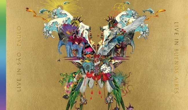 COLDPLAY to release LIVE ALBUM & CONCERT FILM to accompany new documentary DVD on December 7