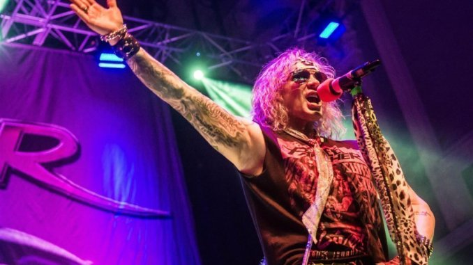 IN FOCUS// Steel Panther at Ulster Hall, Belfast, Northern Ireland 1