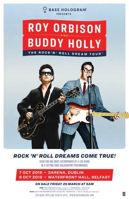 ROY ORBISON & BUDDY HOLLY: 'THE ROCK 'N' ROLL DREAM TOUR'