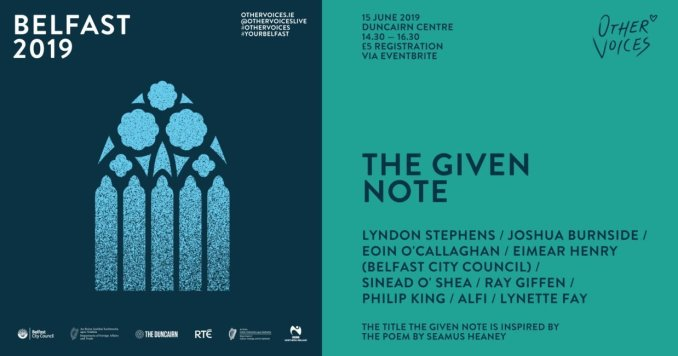 Further Events Announced for Other Voices Belfast