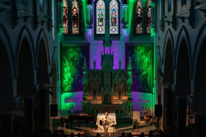 KT Tunstall St Malachy's Church, Castlewellan.