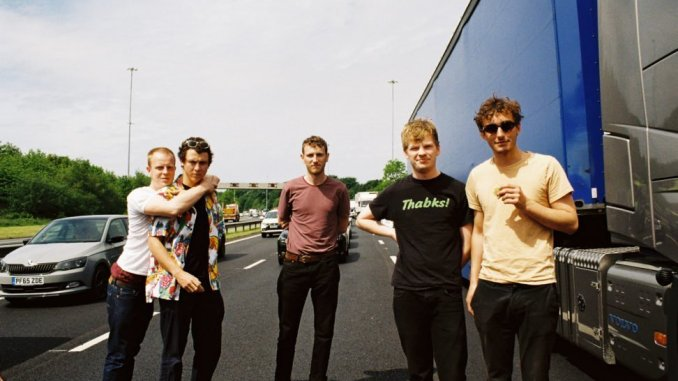 The hotly-tipped post-punk, disco-funk phenomenon SQUID releases new single 'The Cleaner'