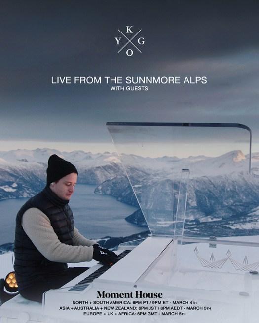 Kygo set to perform atop Sunnmøre Alps in NorwayKygo Momenthouse 1