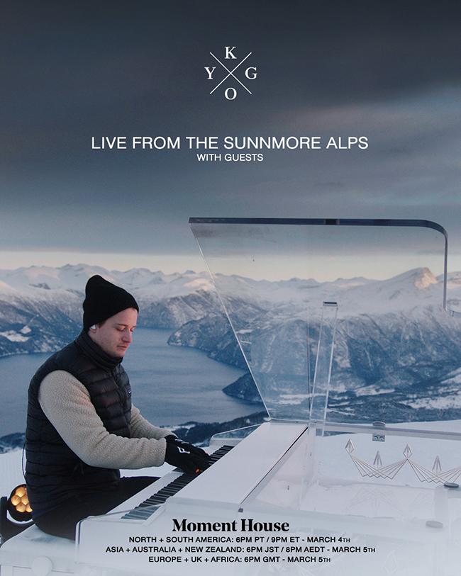 Kygo set to perform atop Sunnmøre Alps in Norway ile ilgili görsel sonucu