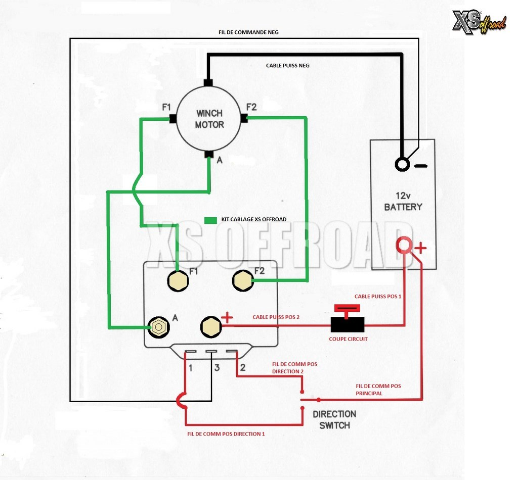 warn winch m8000 wiring diagram electric bicycle controller branchement t-max en direct