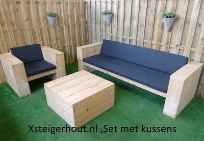 Steigerhout tuinmeubel bouwpakketten  xsteigerhout