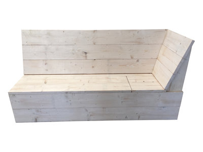 Oostenrijkse eethoek hoek deel steigerhout bouwpakket