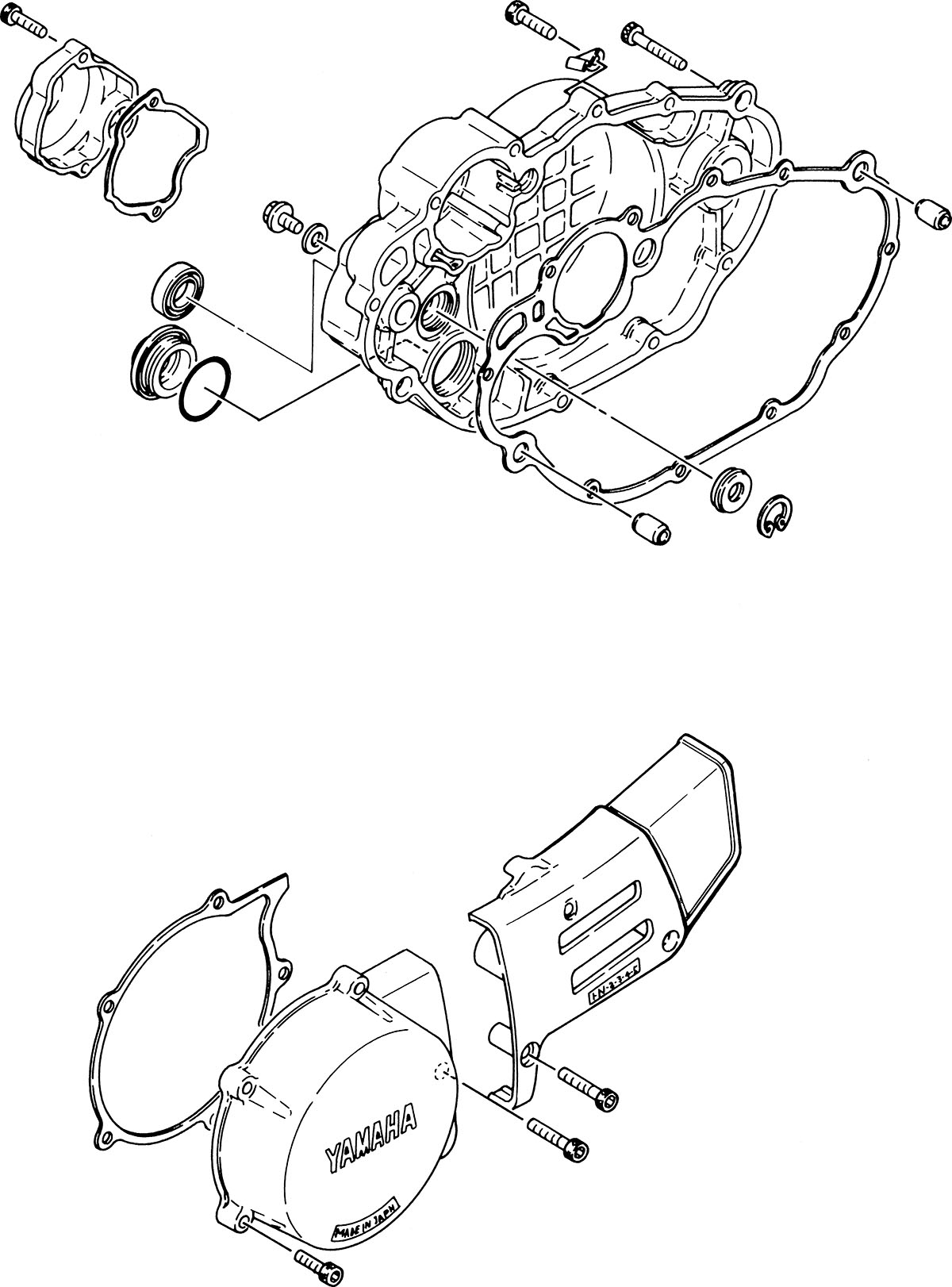 hight resolution of crankcase cover