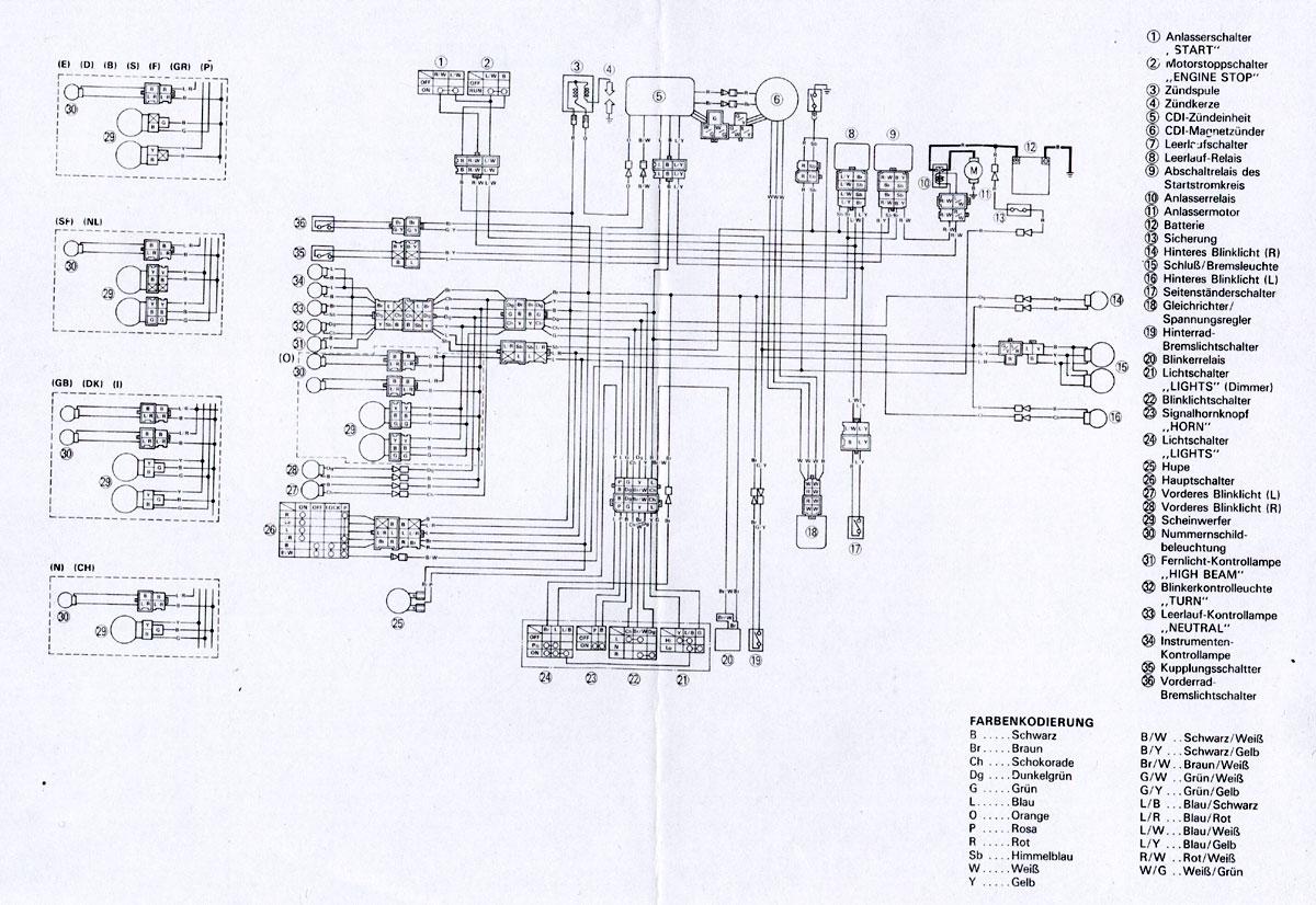 hight resolution of wiring diagram xt 600 auto electrical wiring diagram wiring diagram on pinterest yamaha in addition yamaha fzr 600 wiring